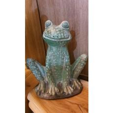 개구리조형물